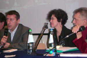Teresa Garcia avec JJ Wittezaele et G Nardone ©Paradoxes